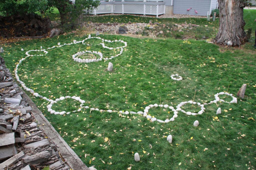 Fibonacci Spiral Chakra Path