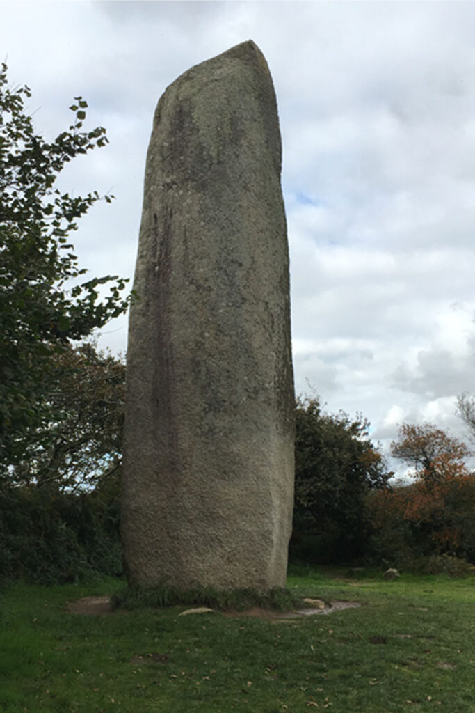 Kerloas Menhir, the tallest menhir in France