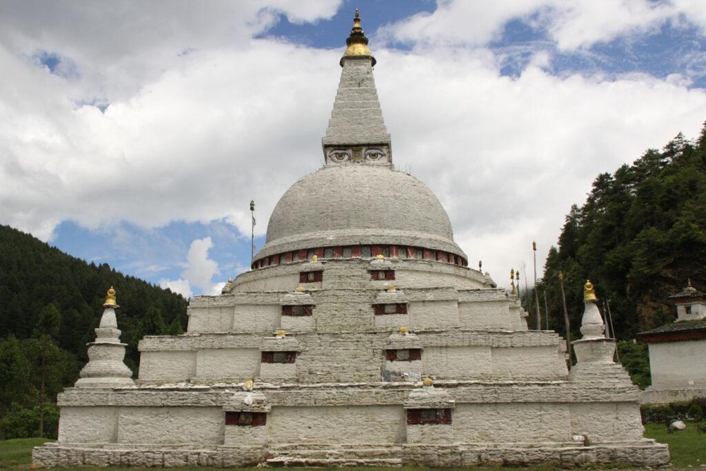 Chendebji Stupa in Bhutan –