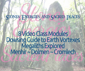 Stones, Energies, and Sacred Places Online Class