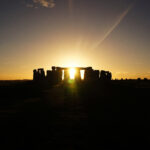 Capturing the sun at stonehenge