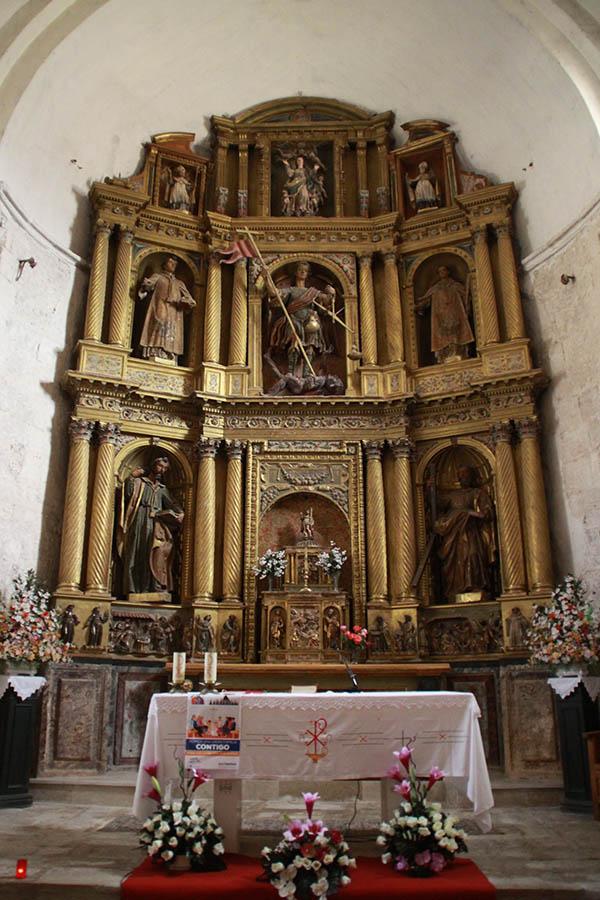 The Altar of Arcángel Miguel de Celada del Camino