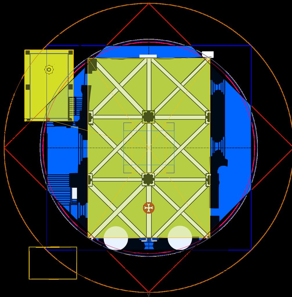 Solsticial quadrilaterals of Rocamadour