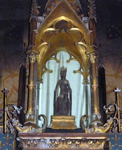 The Black Madonna of Rocamadour