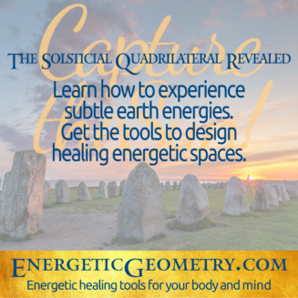 Learn about earth energies, body dowsing, and sacred & solar geometry, to create harmony around you.