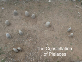 Constellation of Pleiades