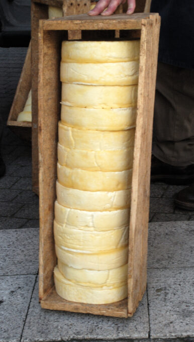 Saint Nectaire Fromage - Photo by Romary - Wiki