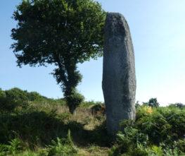 Kergornec Menhir, Brittany, France