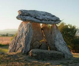 The Witch's Hut Dolmen, Álava, Spain
