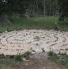 Pati Turner and Tierra Sagrada's labyrinth