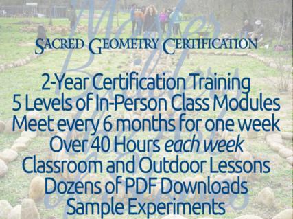 Sacred Geometry Certification Training